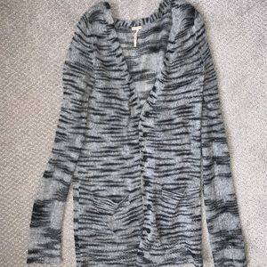 Free People gray cardigan size SMALL